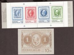 Suede, Sweden - 1983  Stockholmia 86 Carnet Yvert 1221 Carnet Booklet MNH/**/Postfrisch - Carnets