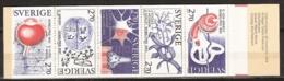 Suede, Sweden - 1984 Prix Nobel. Nobel Prize.  Medicine, Physiologie Booklet. Carnet  Yvert.no.1293-97. H356 MNH/**/Post - Carnets