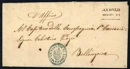 1858, Schweiz, Brief - Suisse