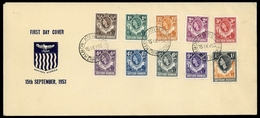 1953, Nord Rhodesien, 61-70, FDC - Altri - Africa
