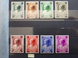Timbres Belges : Princesse 1937 COP N° 458 à 465 ( 463 V1 ) NEUF *  & - Unused Stamps