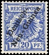 1897, Deutsche Kolonien Neuguinea, 4, ** - Colonia: Nuova Guinea