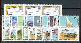 1978, Malediven, 740-48 U.a., ** - Maldive (1965-...)