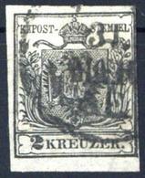 1850, Österreich, 2, Gest. - Machine Postmarks