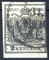 1850, Österreich, 2, Gest. - Matasellos Mecánicos