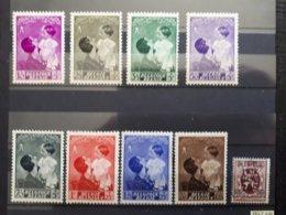 Timbres Belges : Reine Astrid 1937 COP N° 447 à 454 NEUF *  & - Unused Stamps