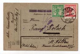 1920 KINGDOM OF SHS, CROATIA, ZAGREB TO AUSTRIA, CENSORED, POSTCARD, USED - Slovénie