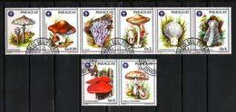 PARAGUAY CHAMPIGNONS 1986 (21) N° Yvert 2207 à 2212 Oblitéré Used - Paraguay