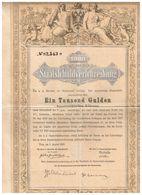 Titre Ancien - Royaume D'Autriche Dette Publique 5 % 1000 Florins - Staatsschuldverschreibung 1000 Gulden 1868 - Déco - - A - C
