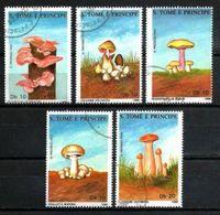 SAINT THOMAS ET PRINCE CHAMPIGNONS 1988 (24) N° Yvert 899 à 903 Oblitéré Used - Sao Tome Et Principe