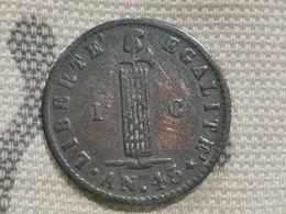 1 Centime 1846 République D'Haïti - Haiti