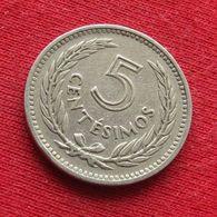 Uruguay 5 Centesimos 1953 KM# 34 Uruguai - Uruguay