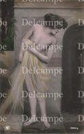 Brunette Pretty WOMAN FEMME Art NUDE NU - Vintage Photo Postal Postcard 1920' - Ethnics