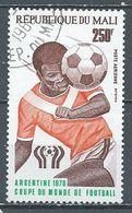 Mali Poste Aérienne YT N°324 Coupe Du Monde De Football Argentina 78 Oblitéré ° - Malí (1959-...)
