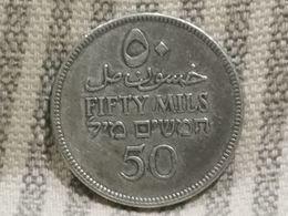 Palestine 50 Mils 1927, TTB ++argent - Otros – Asia