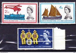 GRANDE BRETAGNE 1963 YT N° 375 à 377 ** - 1952-.... (Elizabeth II)