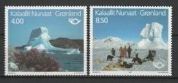 GROENLAND 1991 YT N° 206 Et 207 ** - Greenland