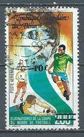 Bénin Poste Aérienne YT N°311 Eliminatoires De La Coupe Du Monde De Football Surchargé Oblitéré ° - Benin – Dahomey (1960-...)