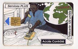 BENIN Ref MV Cards BEN-24 120U Services Plus 2 Date 11/94 - Bénin