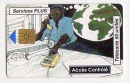 BENIN Ref MV Cards BEN-23 50U Services Plus 2 Date 10/96 - Bénin