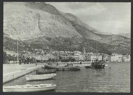 CROATIA HRVATSKA MAKARSKA  Luka Port Postcard (see Sales Conditions) 02049 - Croatia