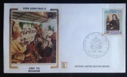 Ecuador, Uncirculated FDC, « Pope John Paul II », « Papal Visit To Ecuador », 1985 - Ecuador