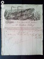1899 BARMEN X WOHLEN - PH. BARTHELS FELDHOFF - FACTURA - Allemagne