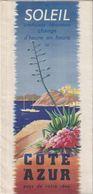 Ancien Dépliant MER MONTAGNE Cote D'Azur - Tourism Brochures