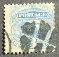 USA 1869 Regular Issue, 3c, SC #114, Used, CV=20$ - United States