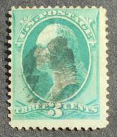 USA 1870-1871 Regular Issue, 3c, SC #136, Used, CV=33$ - United States