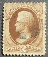 USA 1870-1871 Regular Issue, 2c, SC #146, Used, CV=20$ - United States