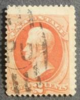 USA 1875 Regular Issue, 2c, SC #178, Used, CV=15$ - United States