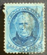 USA 1875 Regular Issue, 5c, SC #179, Used, CV=25$ - United States