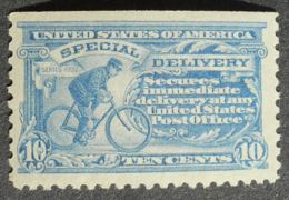 USA 1908 Special Delivery, 10c, SC #E7, MISSING TOP PERF., MNH, CV=425$ - United States