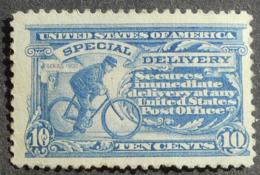 USA 1917 Special Delivery, 10c, SC #E11 C, Blue, MNG, CV=90$ - United States