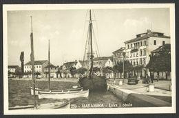 CROATIA HRVATSKA MAKARSKA Luka Port Old Postcard (see Sales Conditions) 02045 - Croatia