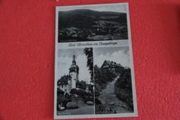 Poland Swieradow Zdroj Bad Flinsberg Im Isergebirge Multi Views NV - Polonia