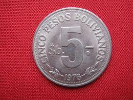 Bolivia 5 Pesos 1976 - Bolivia