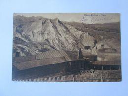 Rare! Romania-Slanic Prahova-Epuraru House/thermal Bath,1916 Mailed Postcard Rare Train Stamp Slanic Station - Roemenië
