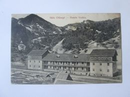 Rare! Romania-Olanesti-Hotel Vechiu,1912 Mailed Postcard Rare Train Stamp - Roumanie