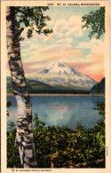 Washington Mount St Helens Curteich - Etats-Unis