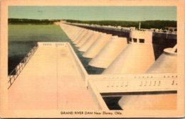 OKlahoma Grand River Dam Near Disney 1944 - Etats-Unis