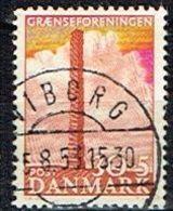 DANEMARK /Oblitérés/Used/1953 - Au Profit D'oeuvres Culturelles De La Société Des Frontières - Denmark
