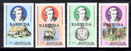 BARBUDA - 1979 CAPTAIN COOK ANNIVERSARY SET (4V) FINE MNH ** SG 474-477 - Barbuda (...-1981)