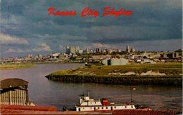 Missouri Kansas City Skyline And River Scene - Kansas City – Missouri