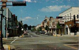 Wisconsin Hartford Downtown Street Scene - United States