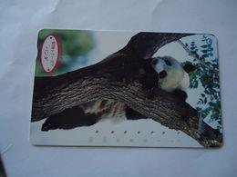 JAPAN  USED CARDS  ANIMALS PANDA - Japan