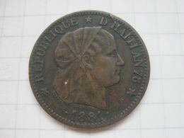 Haiti , 1 Centime 1881 - Haïti