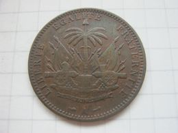 Haiti , 1 Centime 1894 - Haiti