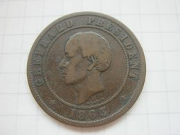 Haiti , 20 Centimes 1863 - Haïti